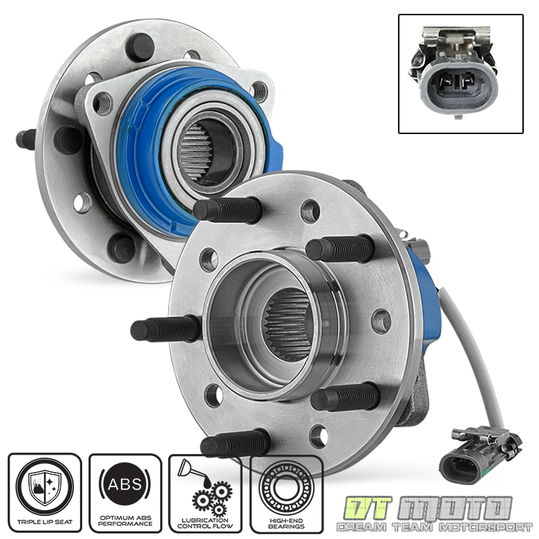 Pair 2  513137 Front Wheel Hub Bearing Chevy Malibu