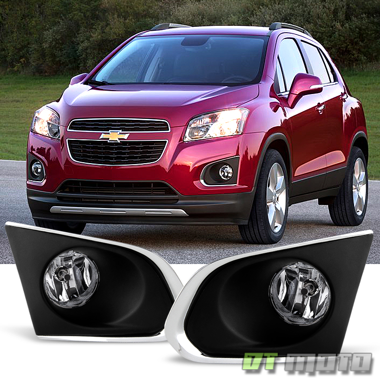2015 2016 Chevy Trax Bumper Driving Fog Lights Lampsswitchbulbs 15