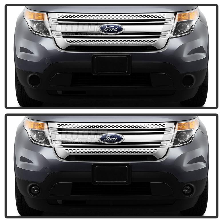 2011-2015 Ford Explorer OEM NEW Front Right Left Bumper Bracket Supoort Set 2
