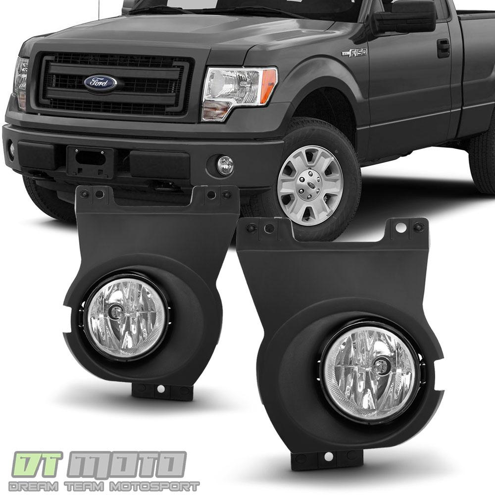 2011 2014 ford f150 lobo bumper fog lights driving lamps w. Black Bedroom Furniture Sets. Home Design Ideas