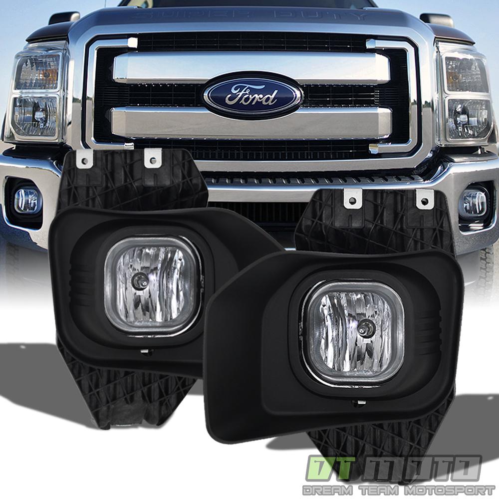2011-2016 Ford F250 F350 F450 Superduty Fog Lights Driving
