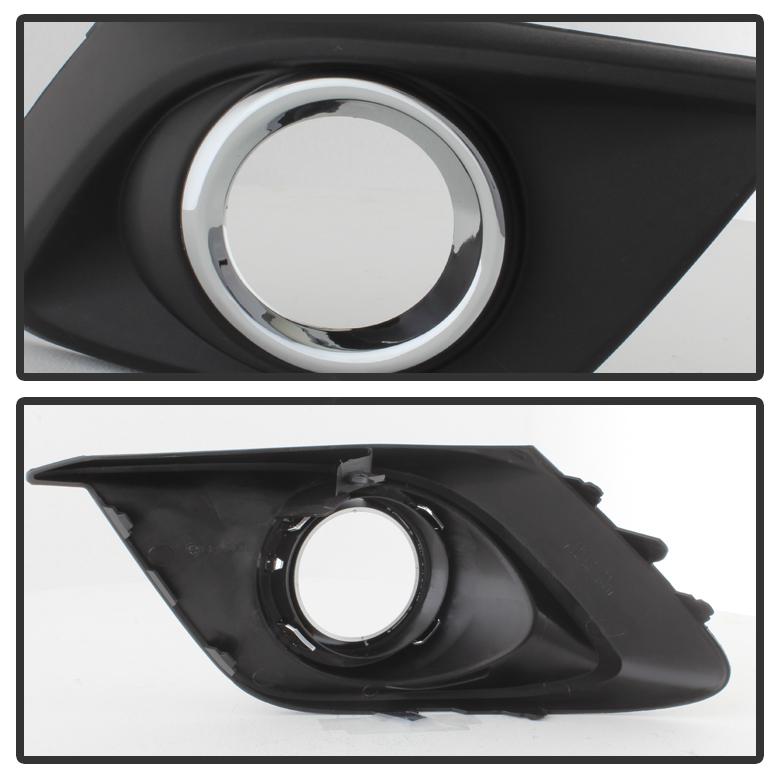 2014  Mazda 3 Oem Style Front Bumper Fog Lights Kit