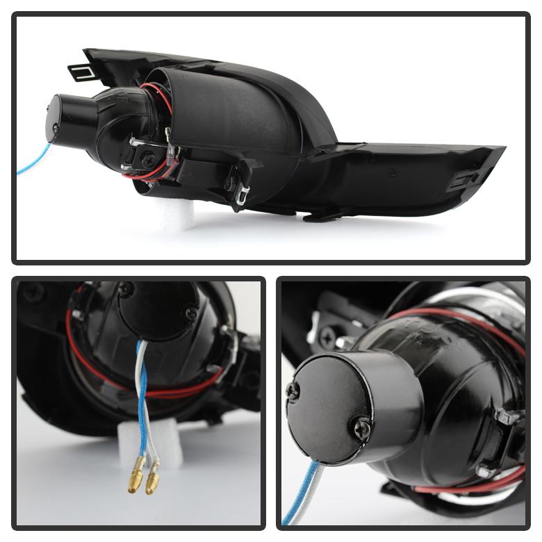 2013 2014 Nissan Altima 4dr Sedan Halo Projector Fog