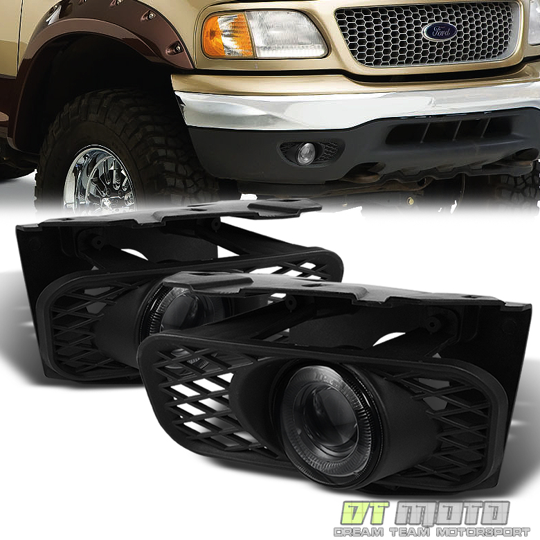 smoked 1999 2003 ford f150 99 02 expedition led halo