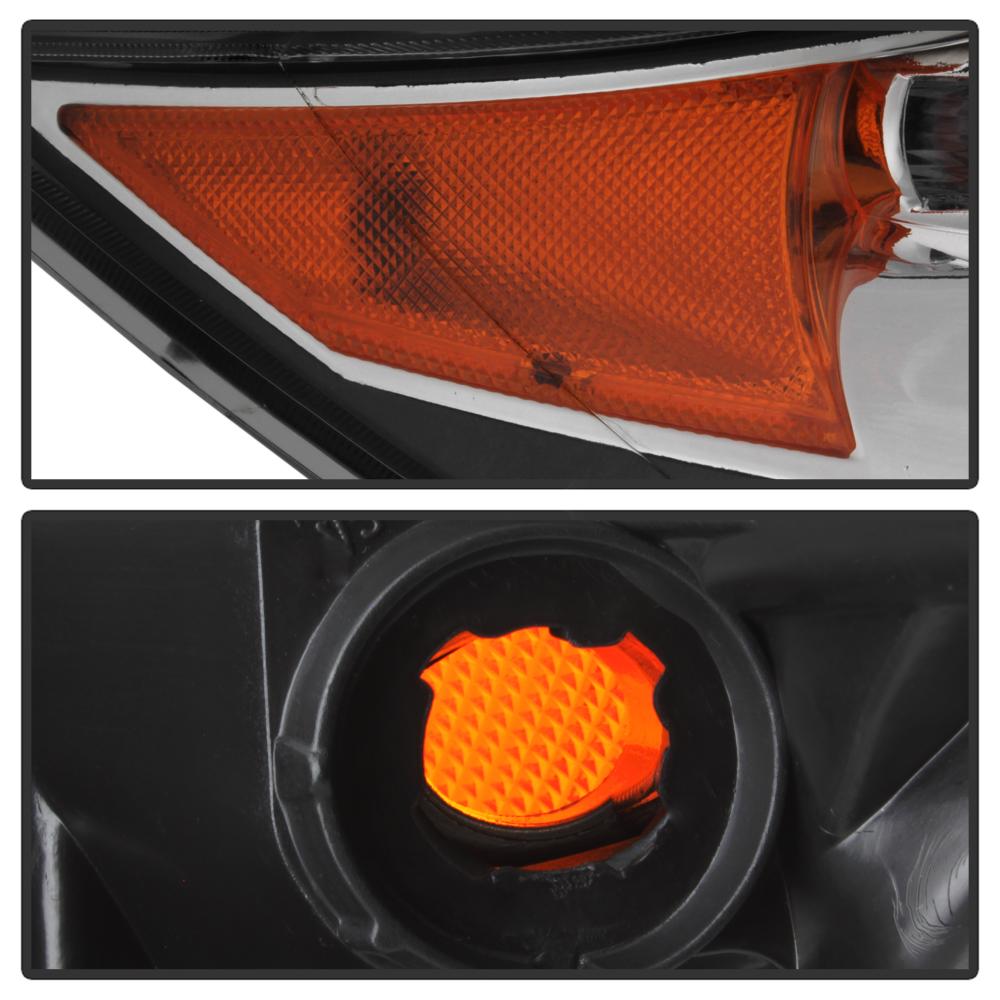 2007 2008 2009 Acura MDX W/o AFS Headlight Headlamp