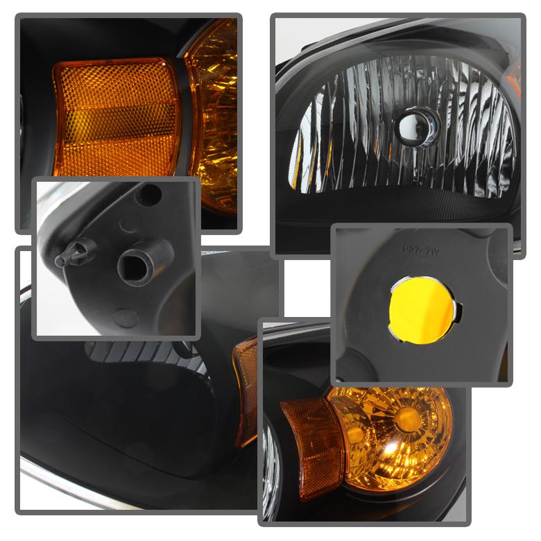 black 2005 2010 cobalt 2007 10 pontiac g5 05 06 pursuit. Black Bedroom Furniture Sets. Home Design Ideas