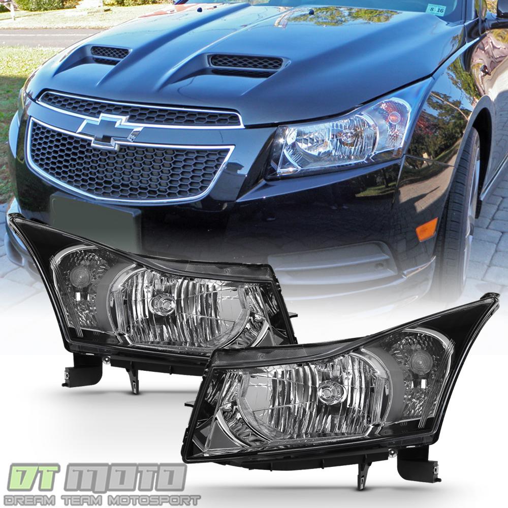 Chevy Cruze 2011-2014 Light Bar LED Tail Lights - Red Smoke  |2014 Chevy Cruze Lights