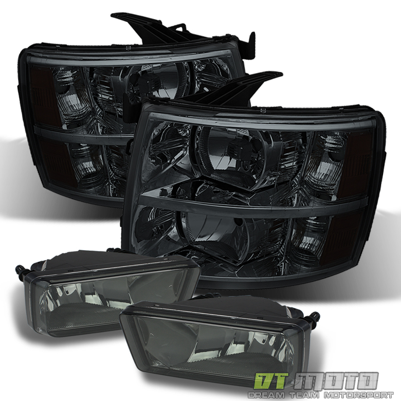 For 2007-2013 Toyota Tundra Headlights Bumper Fog Lamps Lights Left+Right 07-13