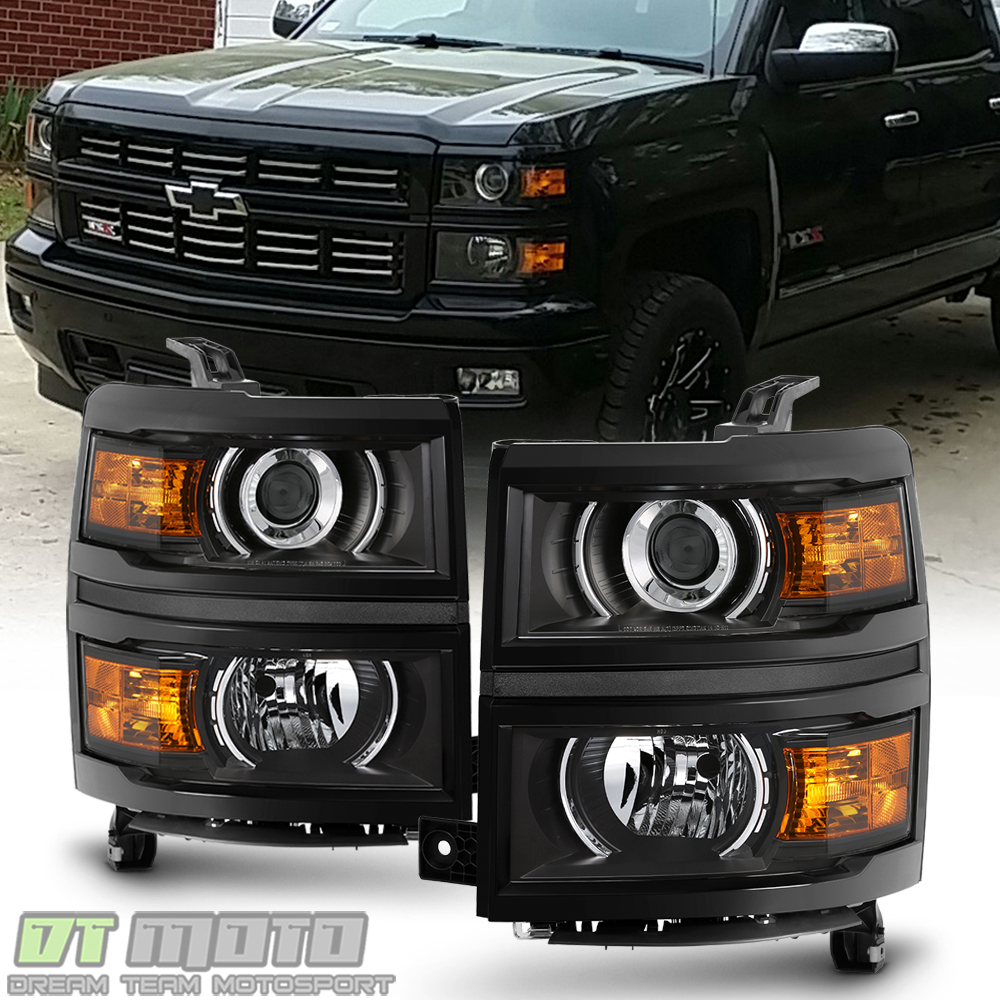 Black Projector Headlights For 2014