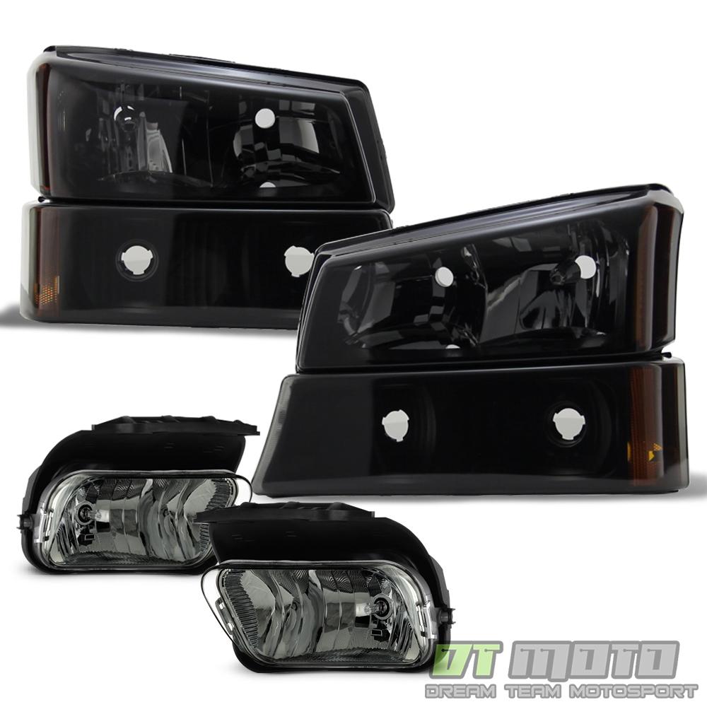 2006 Chevrolet Silverado 2500 Hd Crew Cab Camshaft: 2003-2006 Chevy Silverado 1500 Black Smoke Headlights W