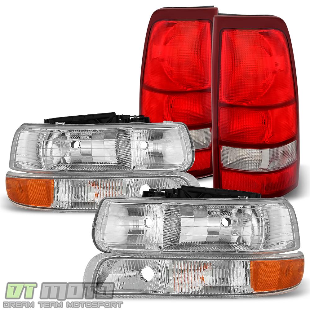 2002 Chevrolet Silverado 1500 Hd Crew Cab Camshaft: 6PC 1999-2002 Chevy Silverado 1500 2500 3500 Headlights