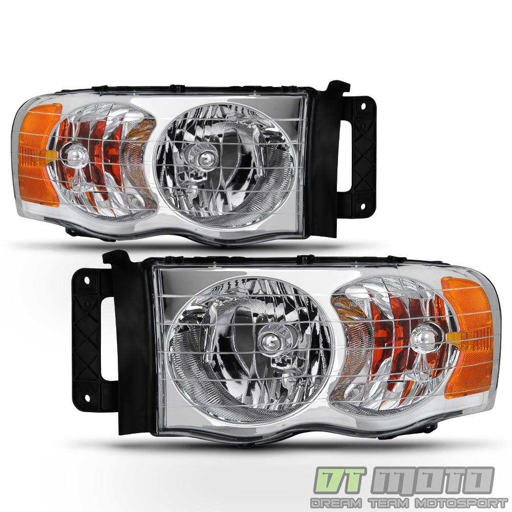 2002 2003 2004 2005 Dodge Ram 1500 2500 3500 Headlights