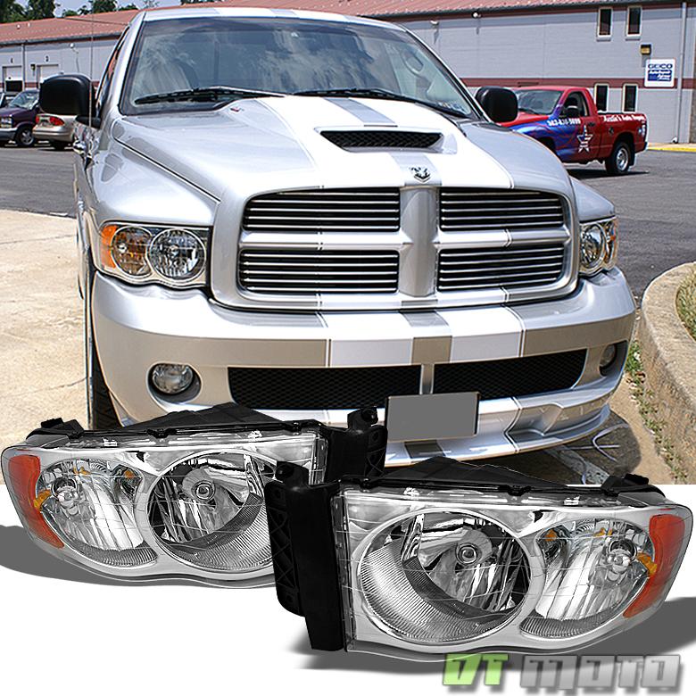 2002 2003 2004 2005 Dodge Ram 1500 2500 3500 Headlights