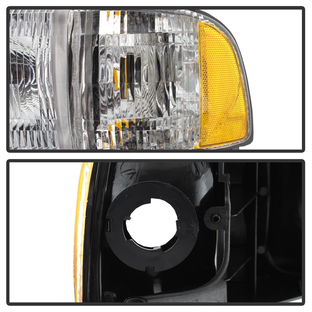 1994-2001 Dodge Ram 1500 94-02 2500 3500 Headlight
