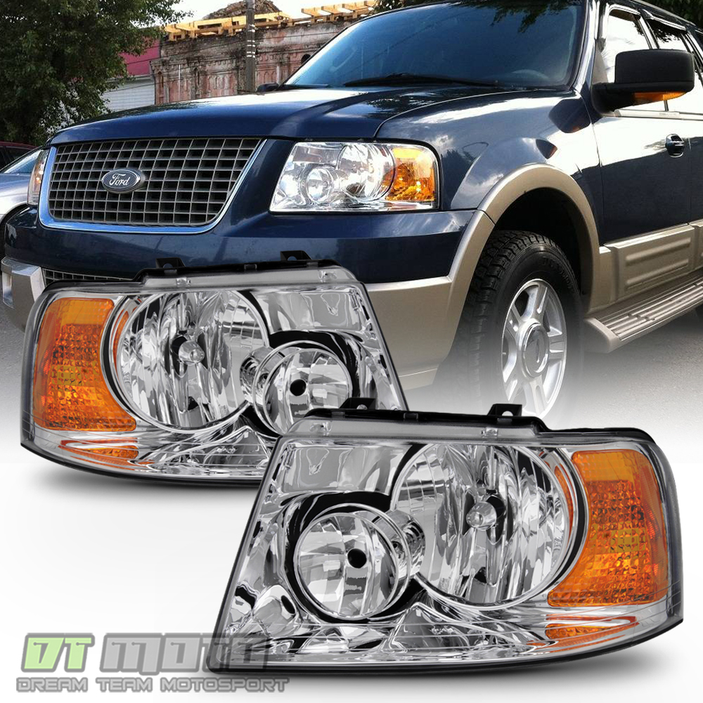 2003 2006 Ford Expedition Headlights Headlamp Replacement
