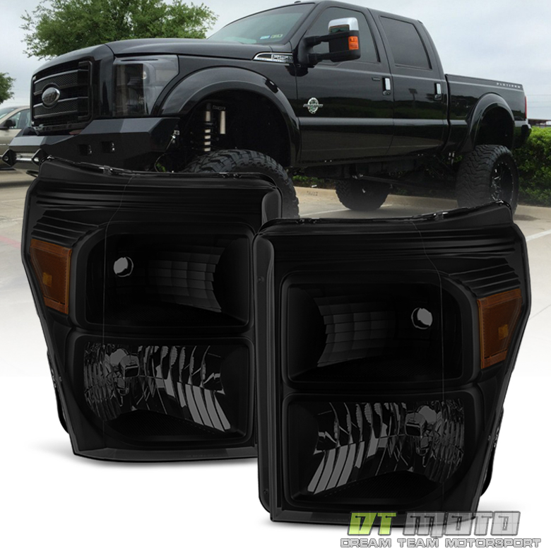 Black Smoke 2011-2016 Ford F250 F350 F450 Super Duty