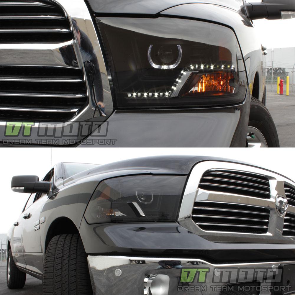 Black Smoke 2009-2017 Dodge Ram 1500 2500 3500 SMD LED