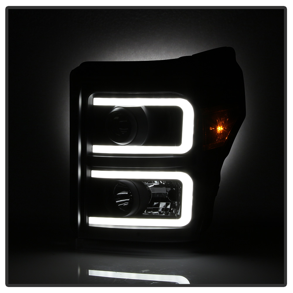 Humo Negro 2011-2016 Ford F250 F350 Faros De Proyector LED