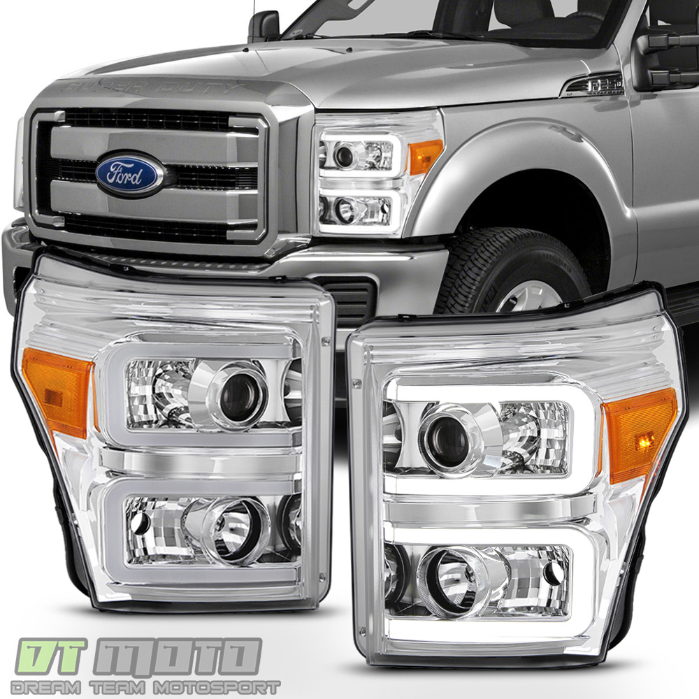 2011-2016 Ford F250 F350 F450 SuperDuty LED Tube Projector