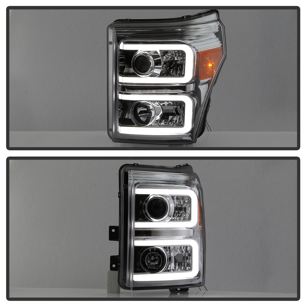 Smoke 2011-2016 Ford F250 F350 F450 Super Duty LED DRL
