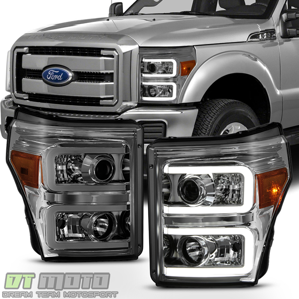 Smoke 2011-2016 Ford F250 F350 F450 Super Duty LED DRL