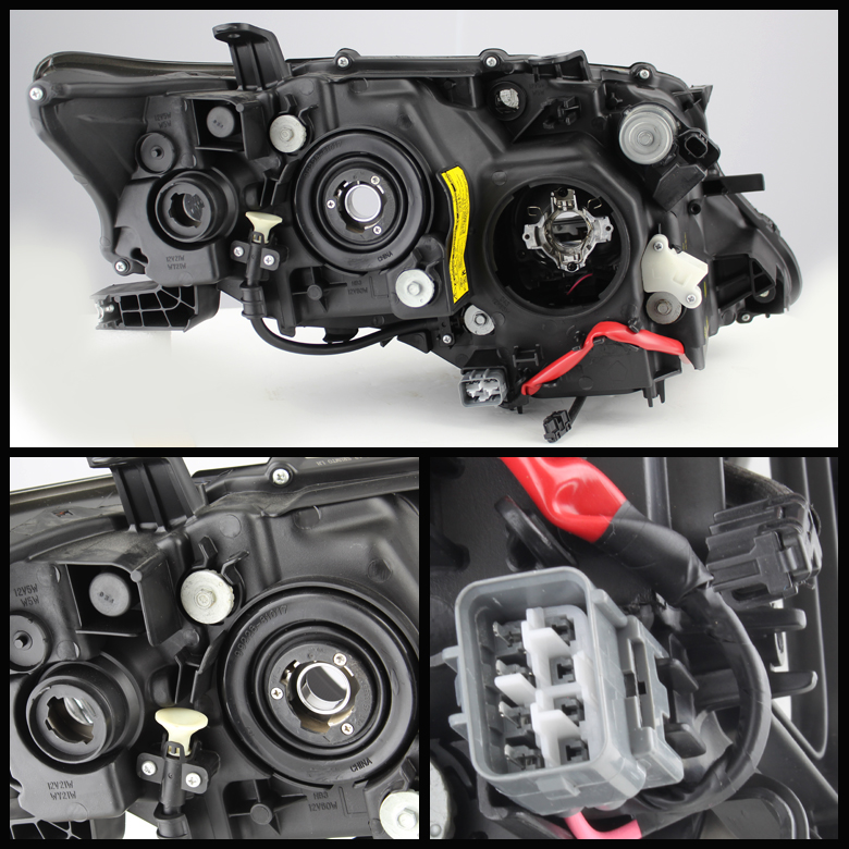 2010-2012 Lexus RX350 RX450H Projector Headlights + AFS