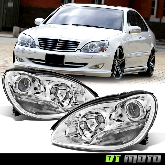 Replacement 2000 2006 mercedes benz w220 s class s430 s500 for Mercedes benz s430 headlight replacement