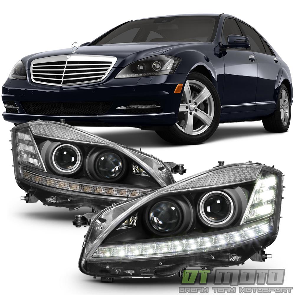 Facelift fit 2007 2009 benz w221 s550 s63 s class xenon for Mercedes benz xenon headlights