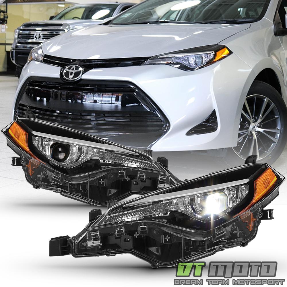 2017-19 Head light Corolla Toyota LE