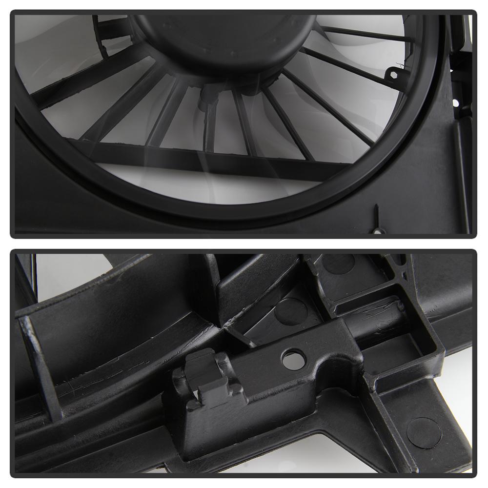 Dual Radiator  U0026 Condenser Cooling Fan For Chevy Malibu