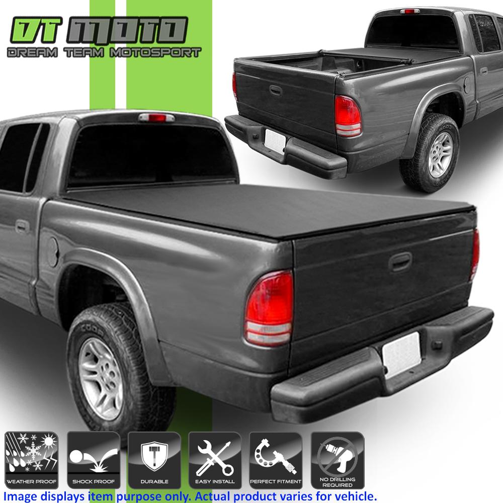 Snap On Tonneau Cover For 97 04 Dodge Dakota Regular Club Truck