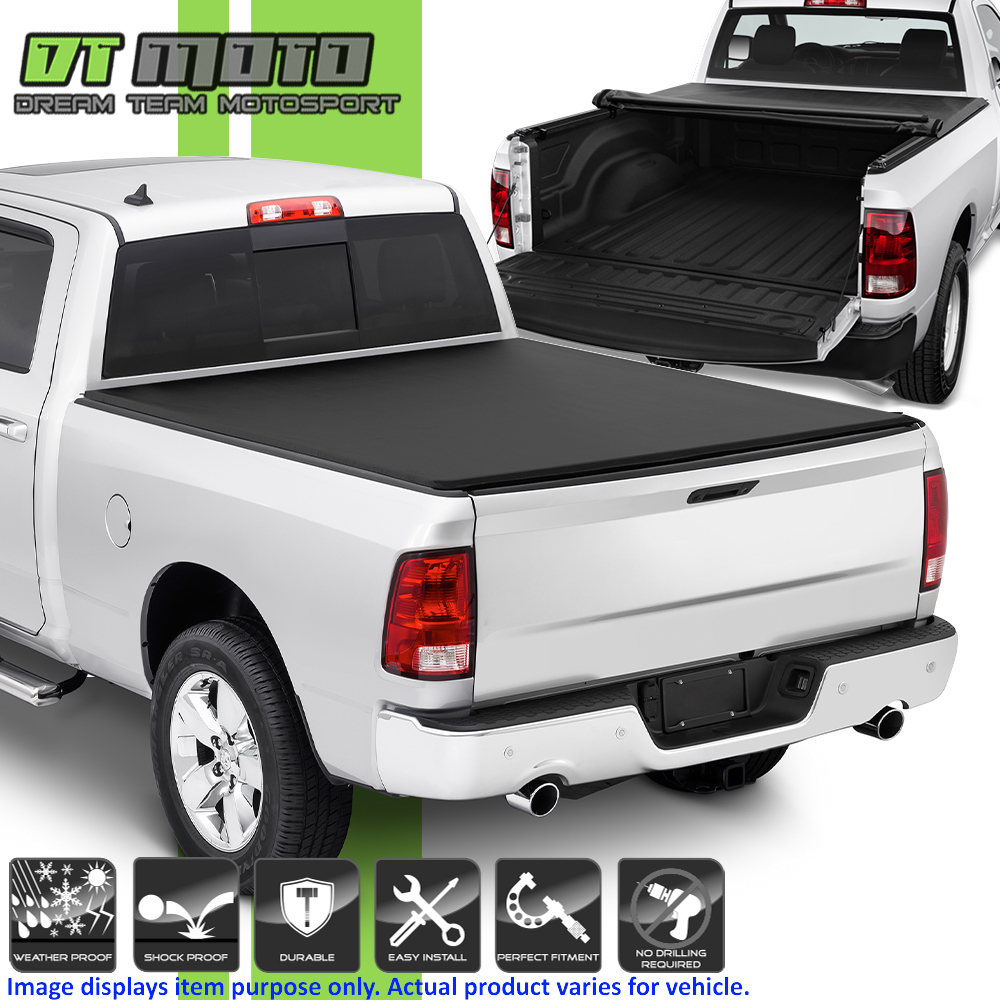 Roll Up Tonneau Cover For 2002 2008 Dodge Ram 1500 03 09 2500 3500 6 5 78 Bed Ebay