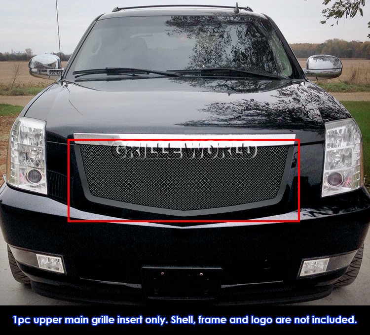 2014 Cadillac Escalade For Sale: For 2007-2014 Cadillac Escalade Stainless Steel Black Mesh Grille