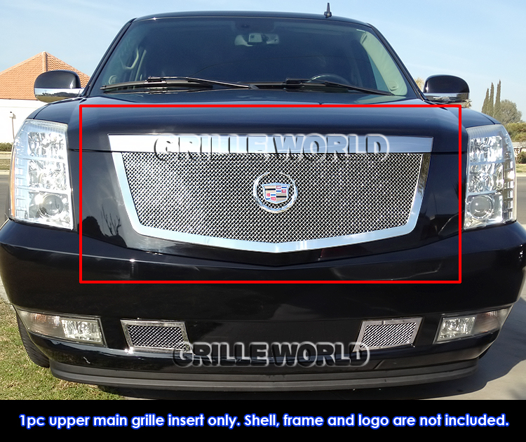 2014 Cadillac Escalade For Sale: For 2007-2014 Cadillac Escalade Stainless Steel Mesh Grille Grill Insert 637230823293