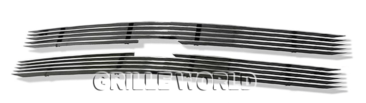 APS Compatible with 94-97 Chevy S-10 S10 Pickup Main Upper Billet Grille Insert C65716A