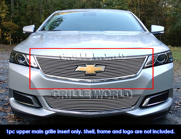 Fits 2014 2018 chevy impala logo show upper billet grille insert fits 2014 2018 chevy impala logo show upper voltagebd Image collections