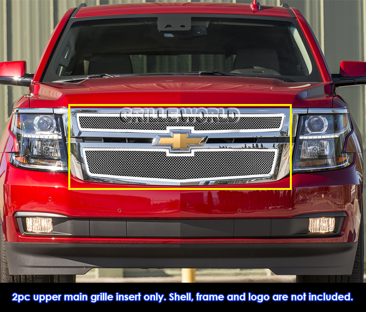 2019 Chevrolet Suburban: Fits 2015-2019 Chevy Suburban/ Tahoe Stainless Steel Mesh