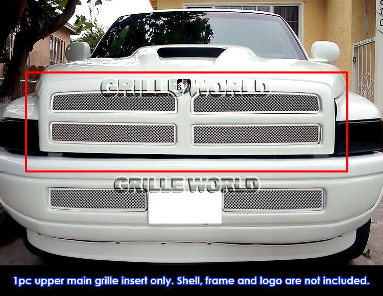 fits 1994 2001 dodge ram pickup stainless steel mesh grille insert ebay details about fits 1994 2001 dodge ram pickup stainless steel mesh grille insert