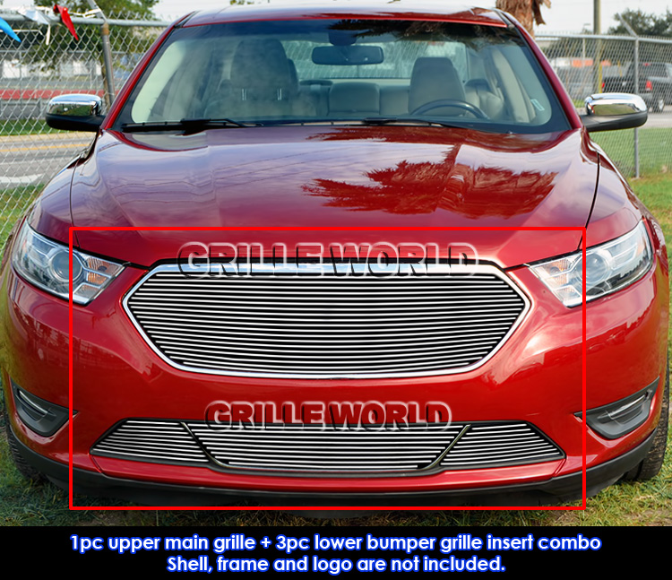 Ford Taurus Sho 2013: Fits 2013-2016 Ford Taurus SHO Logo Cover Billet Grill