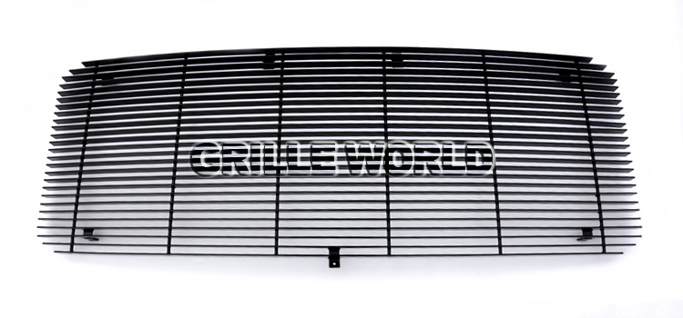 APS F86828H Black Powder Coated Grille Replacement for select Ford F-250 Super Duty Models