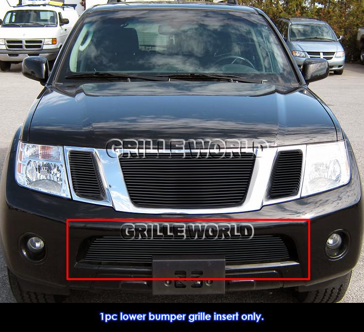 Fits 2004 2008 Chrysler Crossfire Billet Grille Grill: Fits 2008-2012 Nissan Pathfinder Bumper Black Billet