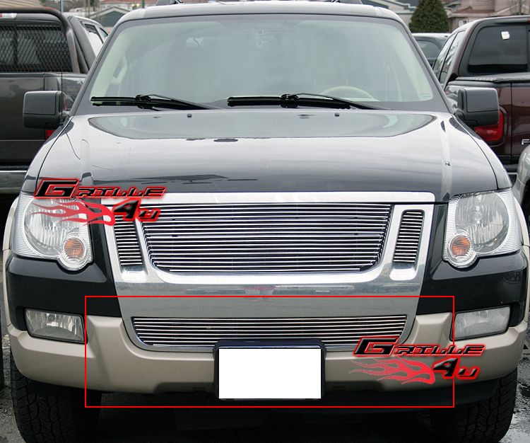 for 07 10 ford explorer sport trac bumper billet grille ebay. Black Bedroom Furniture Sets. Home Design Ideas