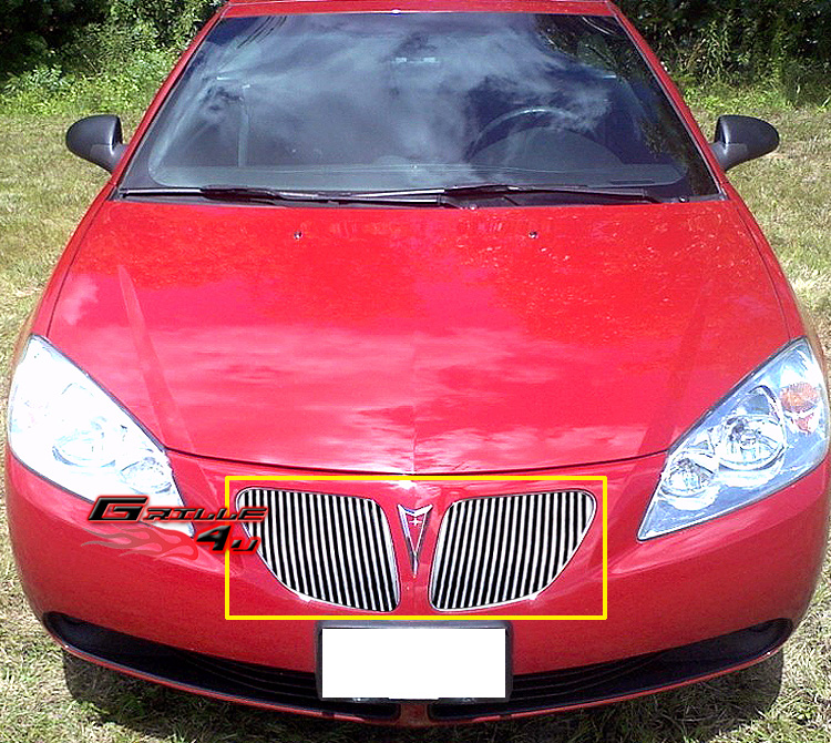 Unfinished Wide Body Pontiac Feiro Gt For Sale: Fits 2005-2008 Pontiac G6 Perimeter Main Upper Grille