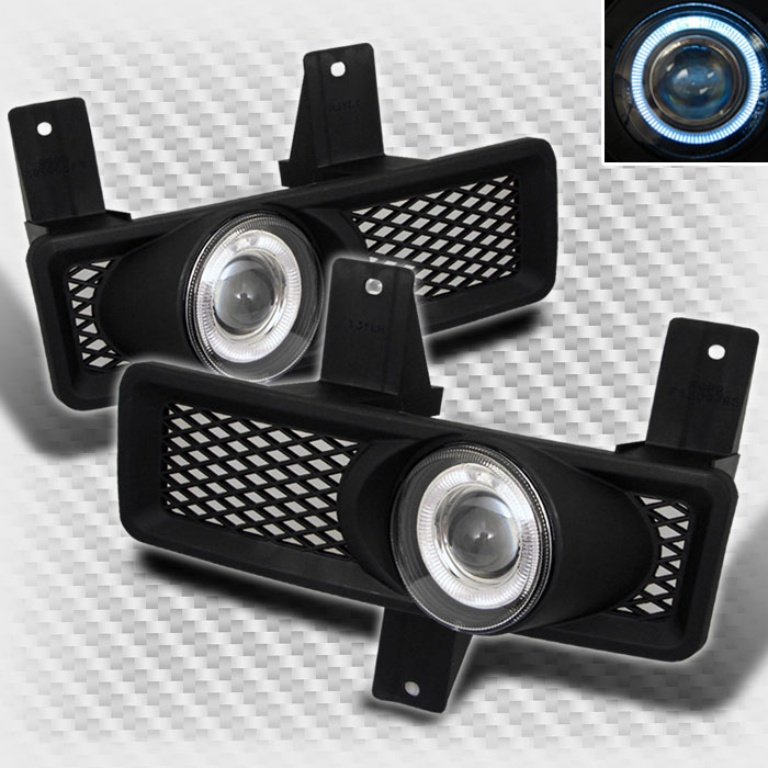 fl p ff15097 hl for 97 98 f150 expedition halo projector fog lights lamp switch Halo Fog Lights Aftermarket at fashall.co