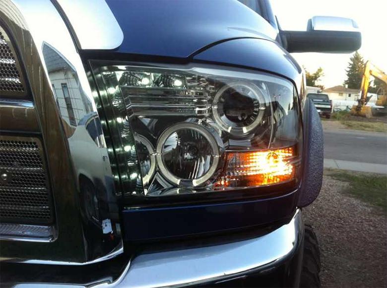 Dodge Ram 1500 Brush Guard >> HID Xenon + 09-2014 Dodge Ram 1500 / 2500 / 3500 CCFL Halo ...