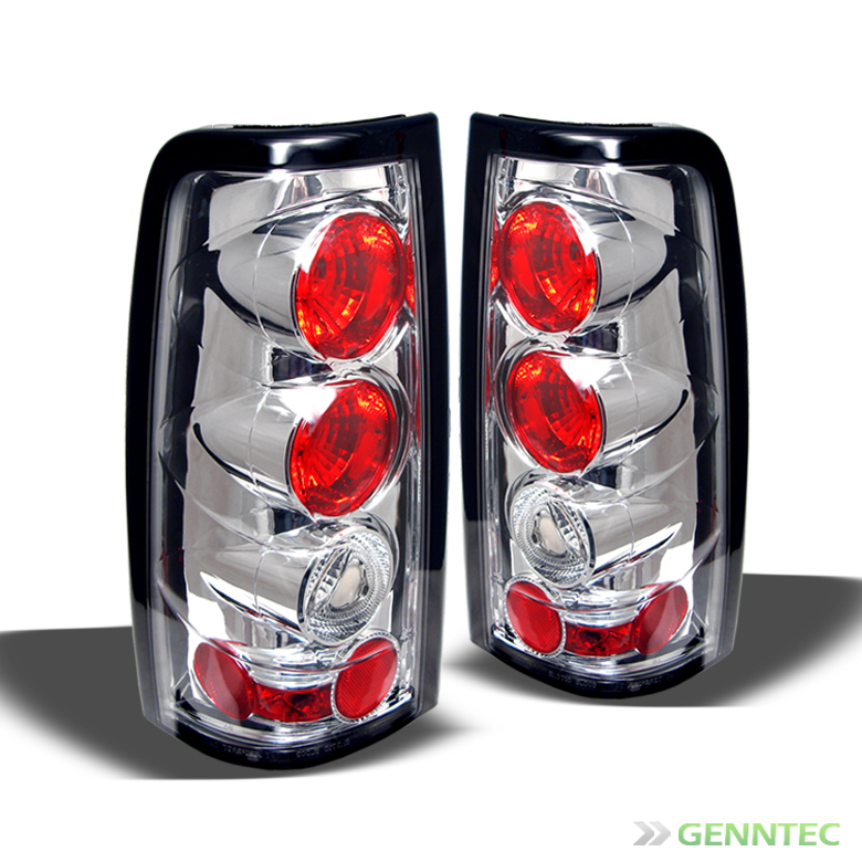 03 06 Silverado Sierra altezza Tail Lights Lamps Rear Brake Pair Taillights Set
