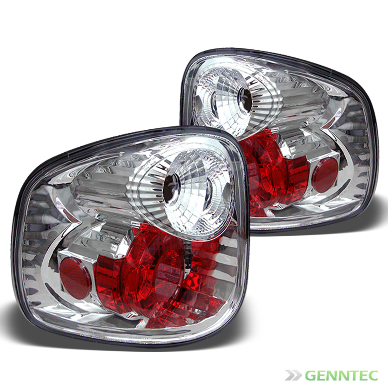 01 03 Ford F 150 Flareside altezza Tail Lights Rear Brake Lamp Pair Set Light