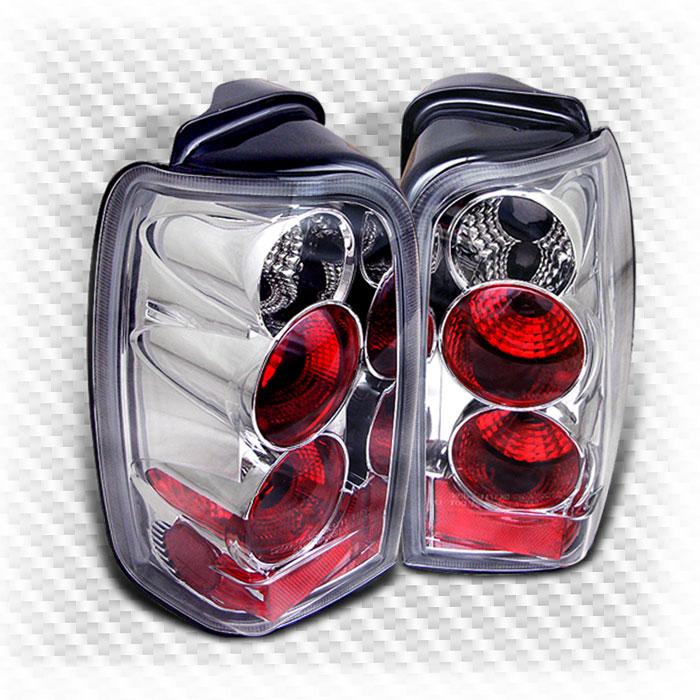 96 02 Toyota 4Runner altezza Tail Lights Rear Brake Lamp Pair New Set Left Right