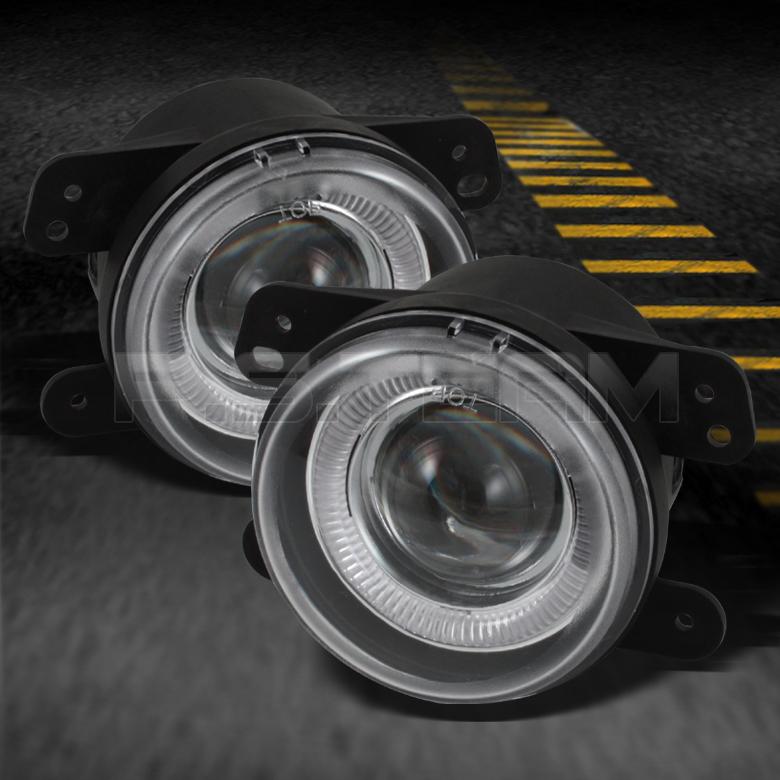 05 08 Magnum 05 10 Chrysler 300 300C Jeep Wrangler Halo Projector Fog Lights