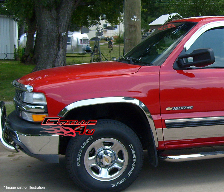 97-03 Ford F-150 Chrome Fender Trim